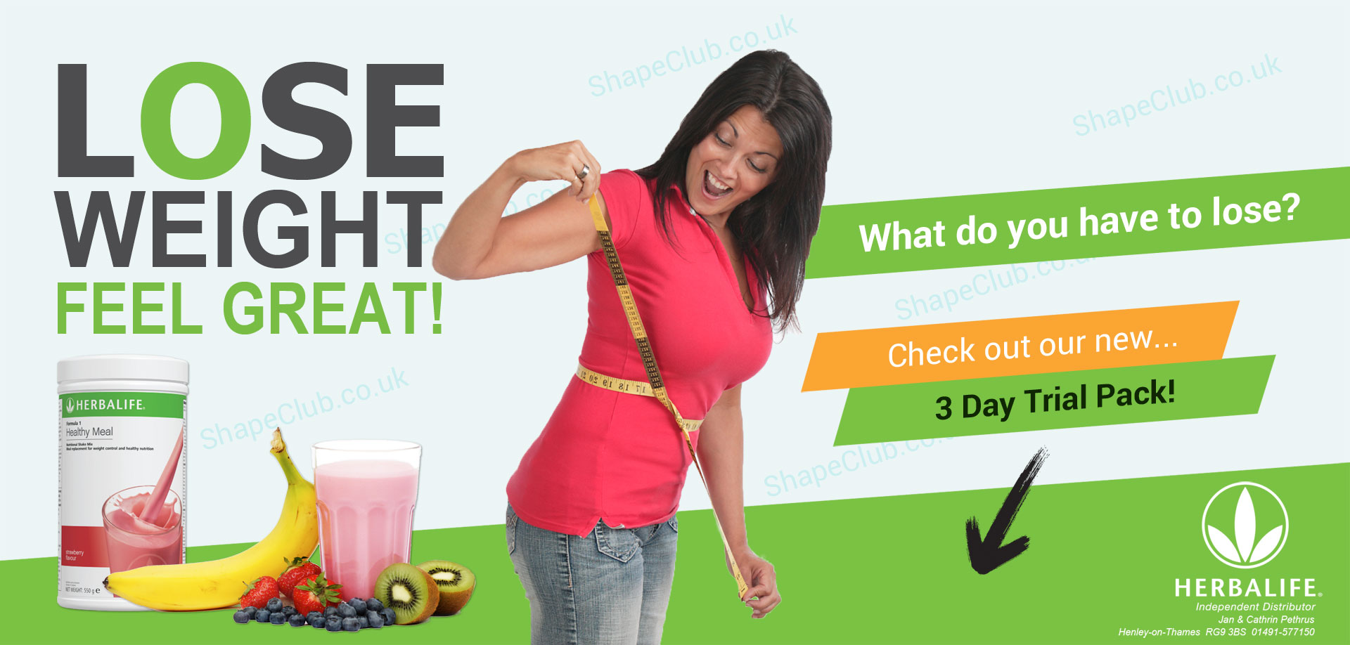 herbalife 3 day trial weight loss
